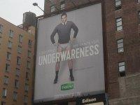 billboard reklamowy na budynku