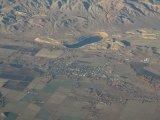 kopalnia odkrywkowa z samolotu